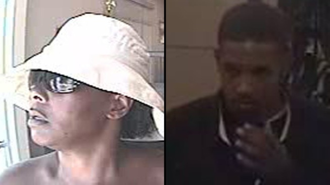 FBI Searching for 2 Bank Robbery Suspects