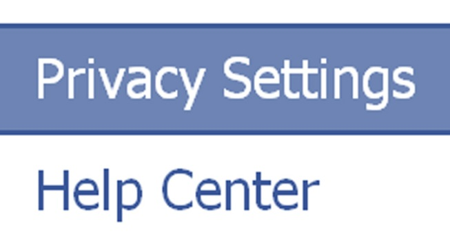 Facebook Settings a Private Matter