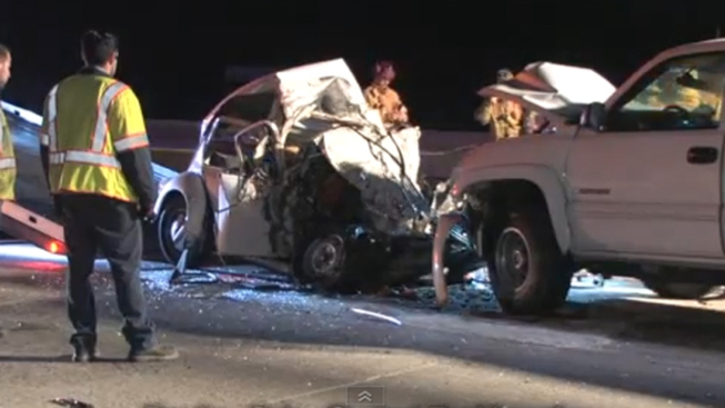 Man Killed in Crash With Wrong Way Driver