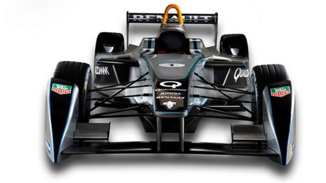 Qualcomm to Charge Electric Racecars