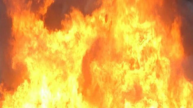 Brush Fire Slows Traffic on Interstate 805