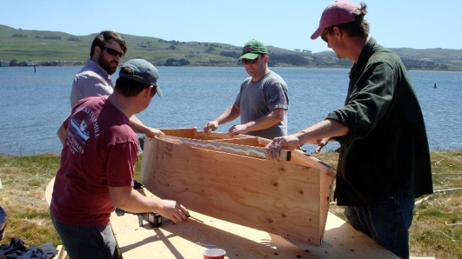 Boats Will Be Built, Then Sailed, in Bodega Bay