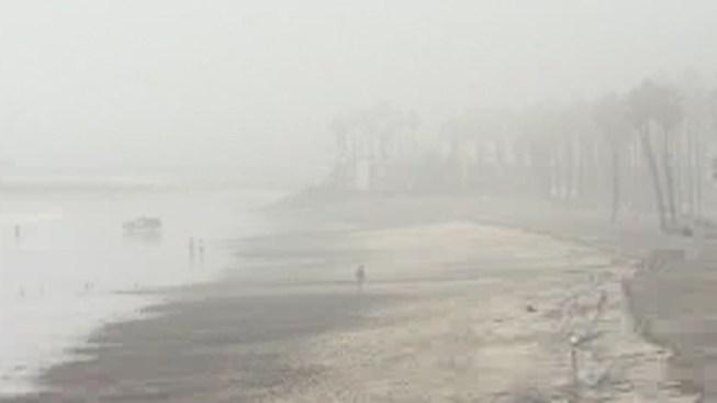 Dense, Patchy Fog Lingers