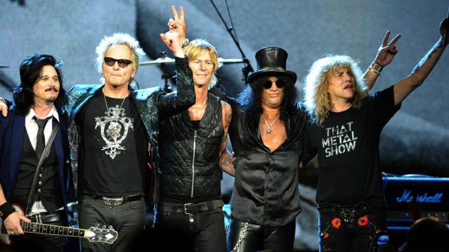 Guns N' Roses Among New Class in Rock Hall of Fame
