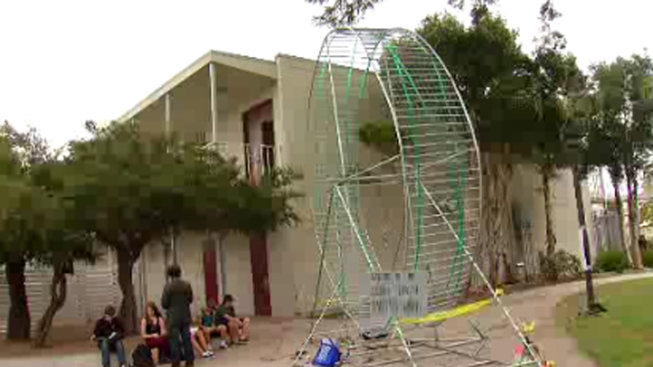 Point Loma High School Seniors Pull Hamster Wheel Prank