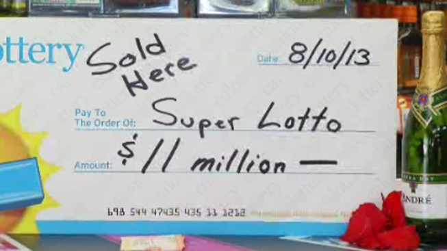 $11M Jackpot Lottery Ticket Sold in San Diego