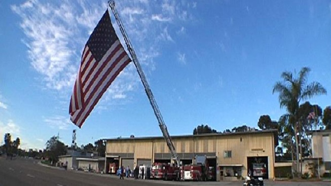 Historic Flag Travels the US in Honor of 9/11