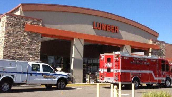 Home Depot Evacuated Following Insecticide Spill