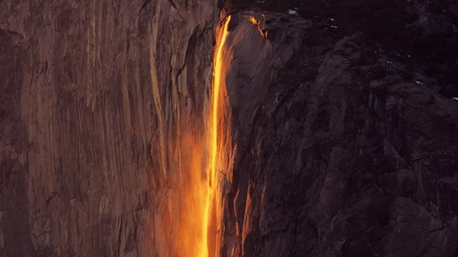 Sunset + Water + Yosemite: Magical Horsetail Fall