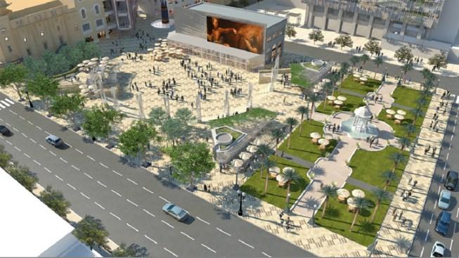 Plans Continue for Horton Plaza