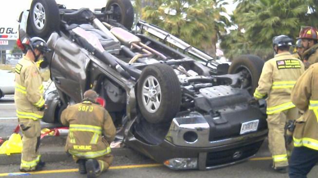 Multiple Vehicle Crash Reported Near I-8