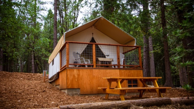 Signs o' Spring: Nevada City Glamping Reopening
