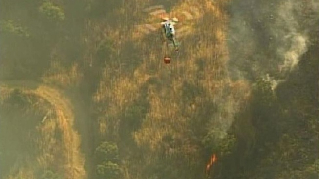 Brush Fire Fully Contained in Jamul