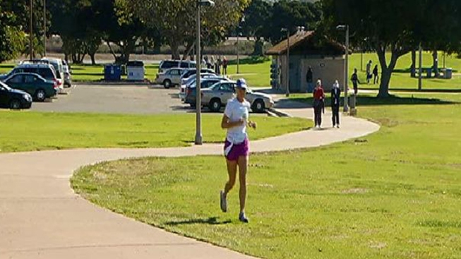 Mission Bay Jogger Faked Assault: SDPD