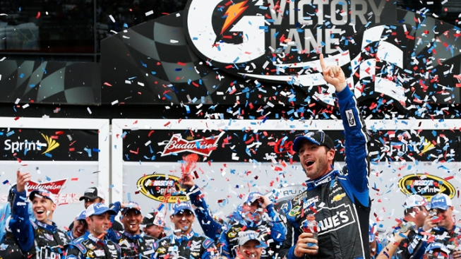 Local Jimmie Johnson Wins Daytona 500