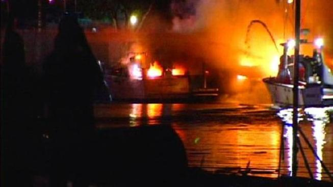 Cause of Mission Bay Boat Fire Released