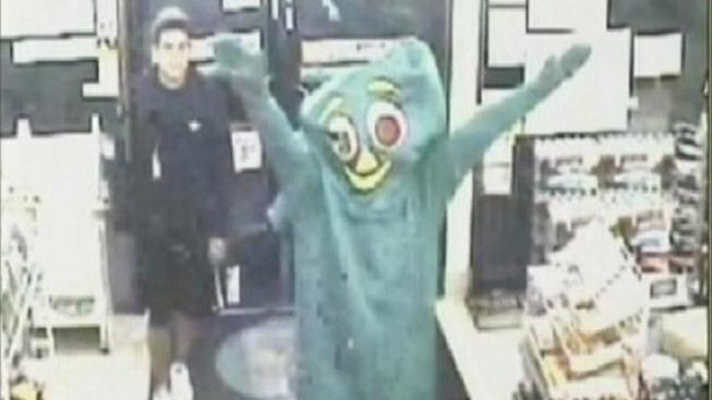 """Gumby"" Robber Pleads Not Guilty"