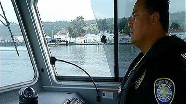 Men Cited After Pointing Laser at Officers