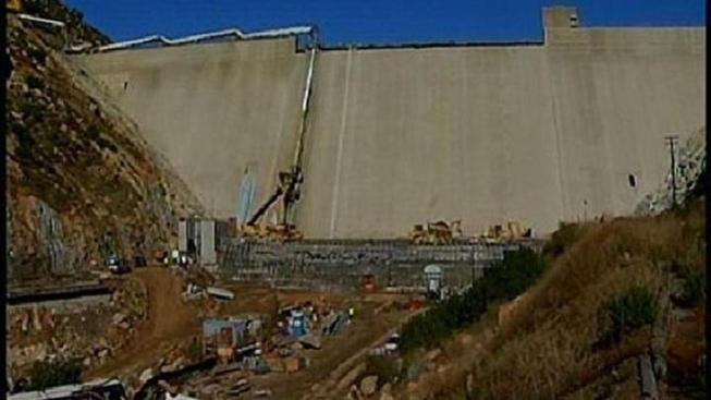 San Vicente Dam Half-Finished: Water Authority