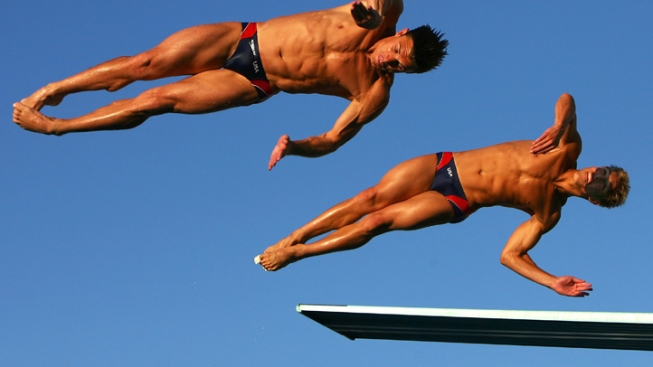Dumais, Ipsen Will Head to Synchro Diving Trials' Final