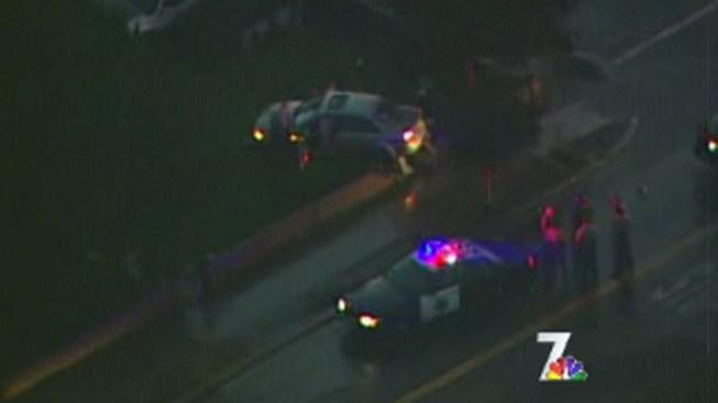 Stolen Car Pursuit Ends in Lemon Grove
