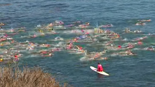 Swimmers Gather for 82nd Annual La Jolla Rough Water Swim