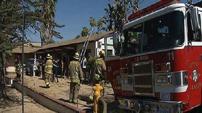La Mesa Fire Leaves 7 Homeless