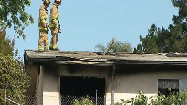 Fire Damages Lake Murray Home