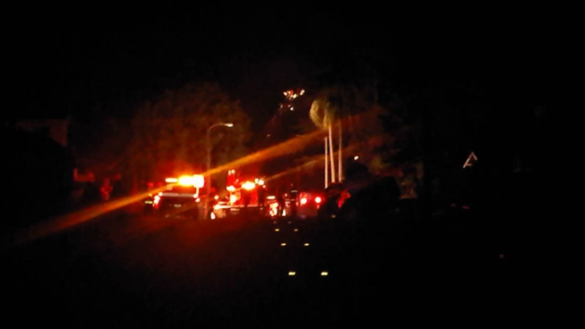 Fire Engulfs Mission Hills Home