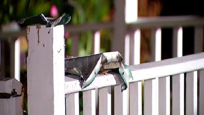Mailbox Explosion Sends Shrapnel Flying