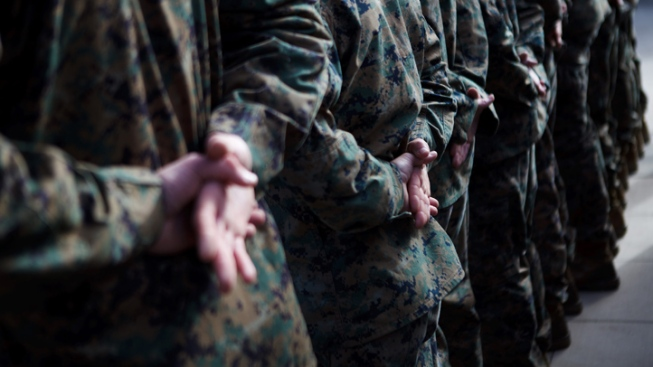 Marines to Begin Random Blood-Alcohol Tests