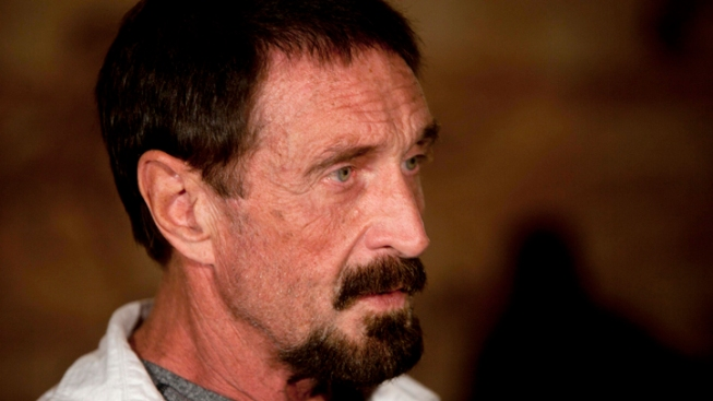 McAfee Wants To Return To USA