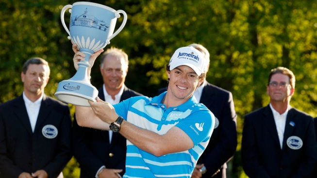 McIlroy Holds On to Win Deutsche Bank