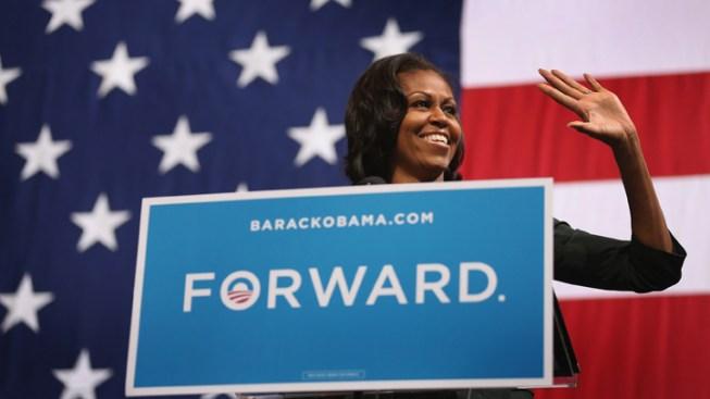 Michelle Obama Attends Breakfast in La Jolla