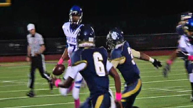 San Diego HS Football Star Sidelined with Injury