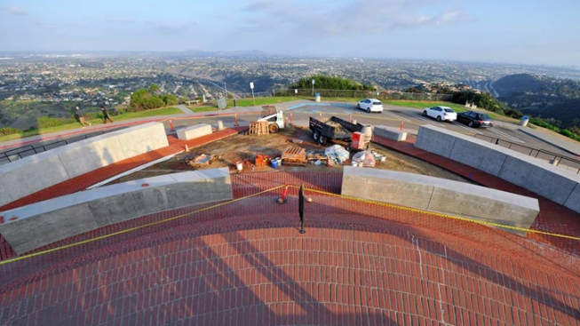 Mt. Soledad Adds 5 New Memorial Walls