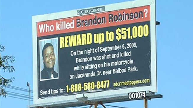 Murder Search Takes to Billboard