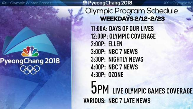 how to watch the 2018 pyeongchang olympic games nbc 7