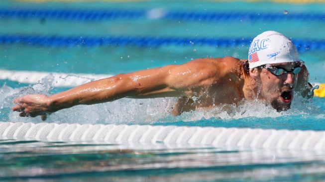 Phelps Settles for Another Runner-up at Charlotte