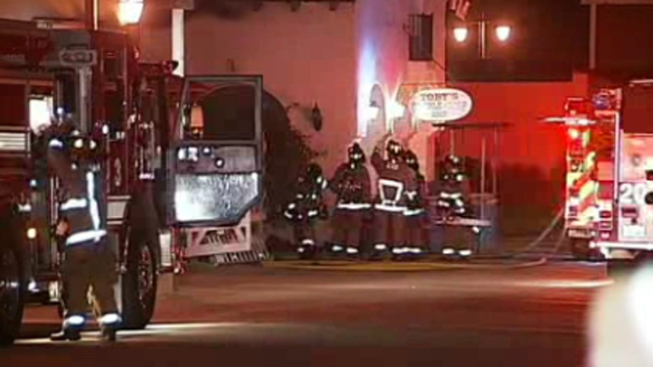 Electrical Fire Burns Old Town Candle Shop