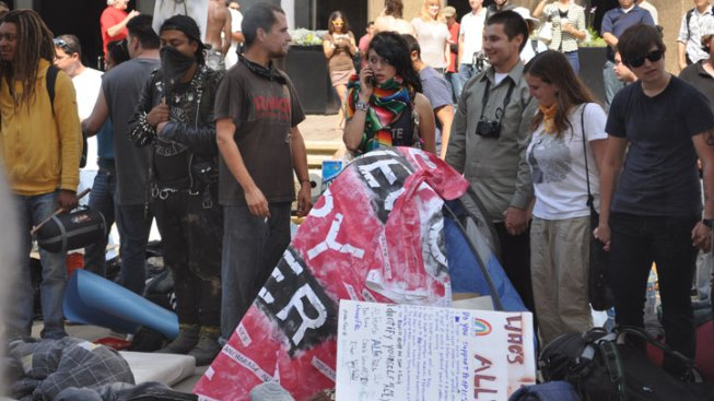Forget Tents, They're Occupying the Courts