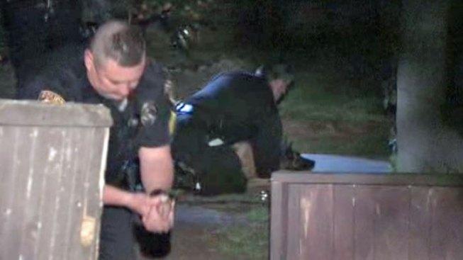 Police Dog Bites Officer