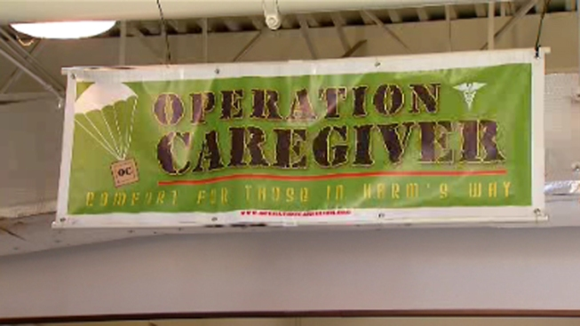 Operation Caregiver Throws Final 'Packing Party'