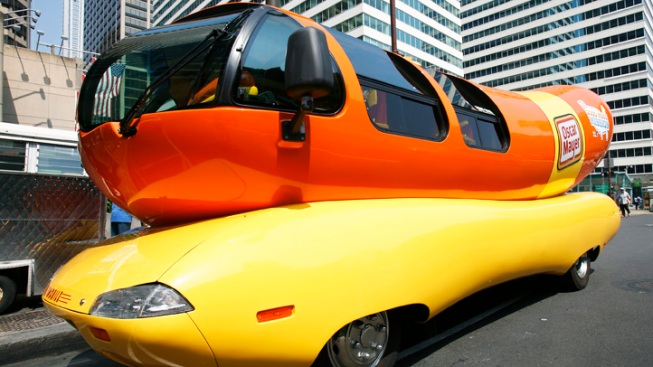 Wienermobile Available to Rent on Airbnb, Company Announces