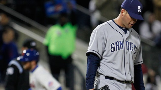 Padres + Poor Pitching Start = Blowout