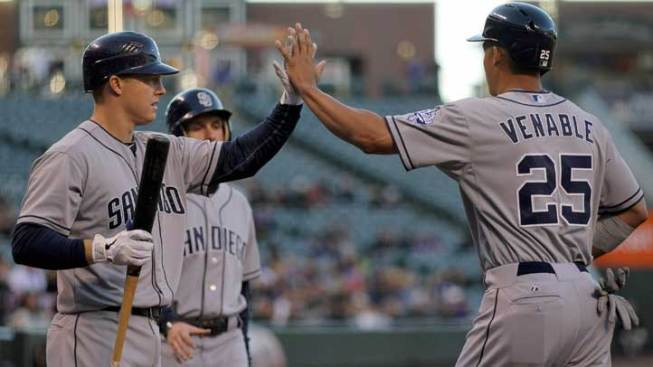Padres Snap Four-Game Skid With Win Over Rockies