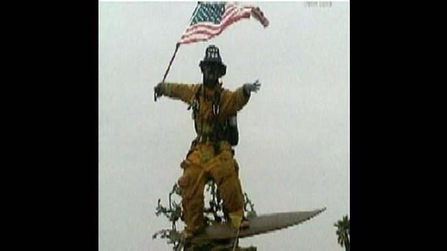 Cardiff Kook Honors Heroes of 9/11