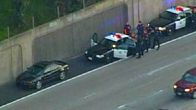EB I-8 Traffic Slowed by Police Standoff
