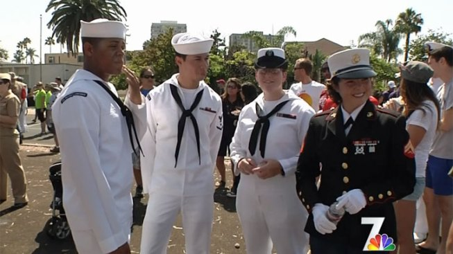 GOP Challenges Military March in Pride Parade