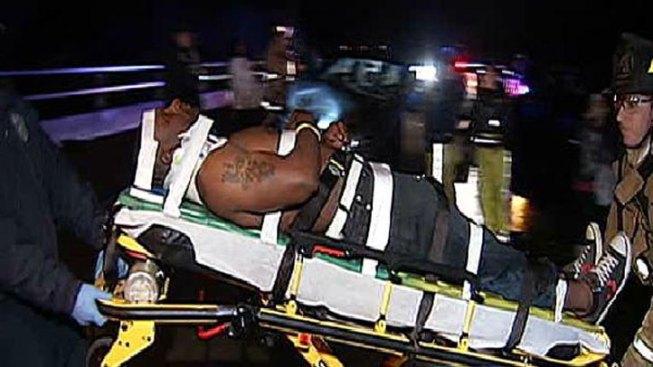 Good Samaritan Injured in Highway Crash